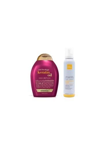 Organix Organix Keratin Oil Şampuan 385 Ml+Milk Shake Bakım Köpük 150 Ml Renksiz